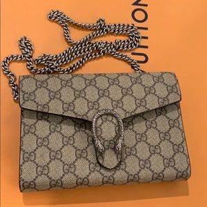 Gucci wallet bag Dionysus beige